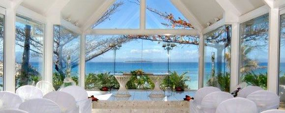 The 'Sigavou' Wedding Chapel. A stunning backdrop to officiate your new life journey! Click over to our website to find out more: http://www.treasureisland-fiji.com/destination-wedding-fiji/
