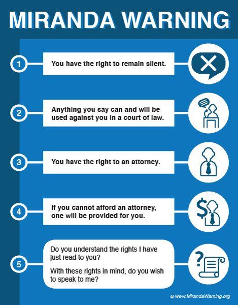 Best 25 Miranda Rights Ideas On Pinterest Image Social
