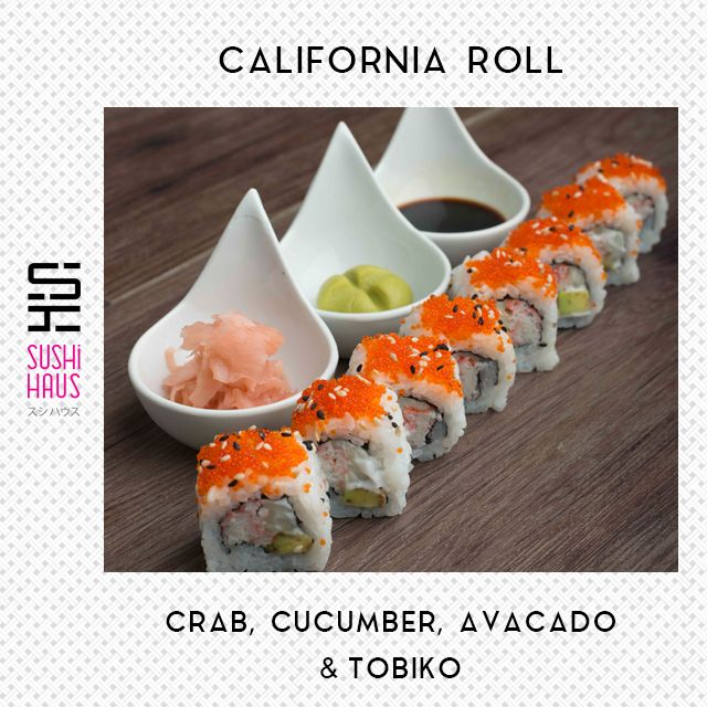 Order Roll of the Day and enjoy on your couch. Get  #californiaroll 8 pc exotic sushi at 565 only! #sushihaus #rolloftheday #sushi #nonvegsushi #onlinedelivery #homedelivery #latenightdelivery #healthy #fresh #yummy #sushilove #delhi #ncr. Call us on 9555400100 or Order online www.sushihaus.in