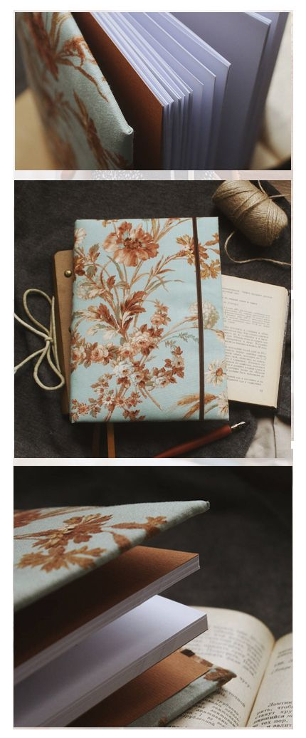 ● On sale righ now ● This handmade notebook with fabric cover is a nice present for any occasion for friends and for yourself. Perfect to fill with notes, recipes, goals, drawings, memories and photos. Creating each notebook we use only natural and high-quality materials, so that you can be sure that the notebook will serve you a long life. Read more at https://www.etsy.com/shop/PaperLeon
