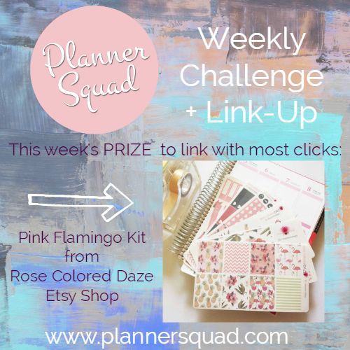 Planner Squad Weekly Challenge #4 - Planner Squad