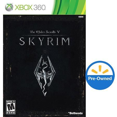 Elder Scrolls V: Skyrim (Xbox 360) - Pre-Owned