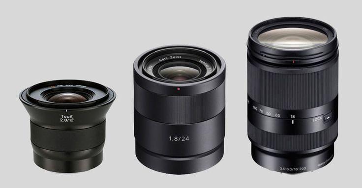 11 Great Sony E-Mount Lenses
