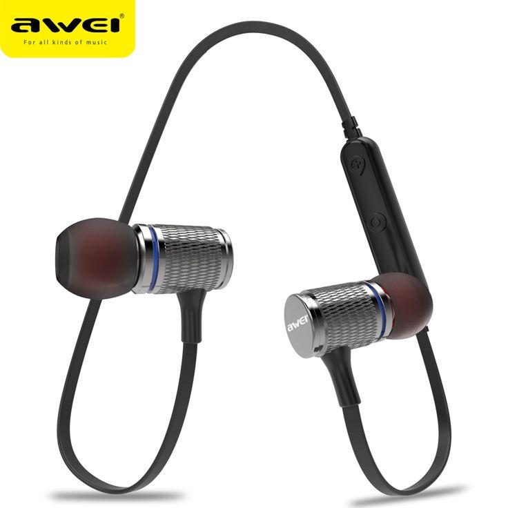 AWEI T12 Bluetooth Headphone Wireless Earphone Headset For Phone Auriculares kulakl k Cordless Earpiece Bluetooth V4.2 Casque | StyleMakerz | Online Store and Blogs