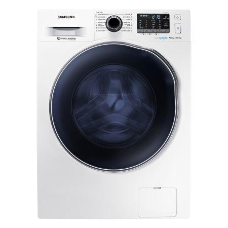 Masina de spalat rufe cu uscator Samsung Eco Bubble WD70J5410AW/LE, 1400 rpm, Spalare 7 kg, Uscare 5 kg, Clasa A