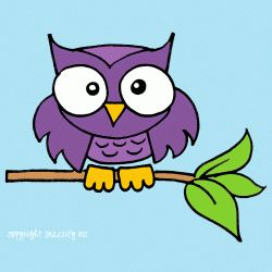 how to draw a cute cartoon owl step by step