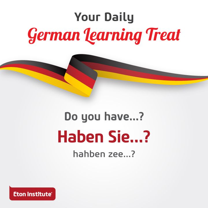 Don't miss out today's German learning treat. Use this phrase to request for something you like.