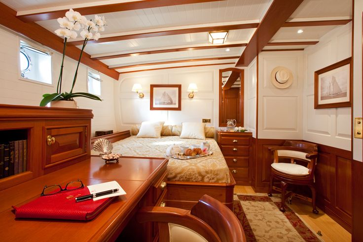 One Of The Staterooms On Elena A Recreation Of Nathaniel