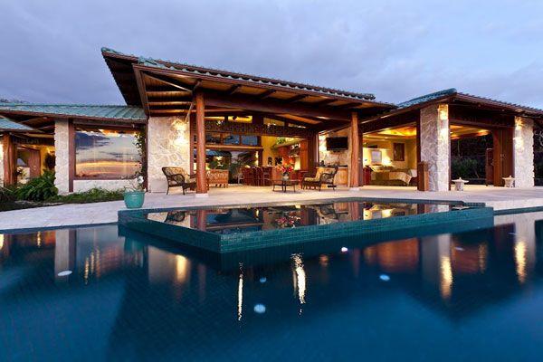 Island luxury mansions hawaii island luxury homes and for Island home designs hawaii