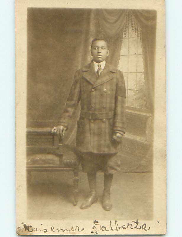 Pre 1918 Young Black Man