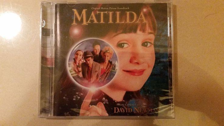 Matilda Soundtrack Album - David Newman- OOP LT. ETD. 1500 Still Sealed * NEW*  #Soundtrack