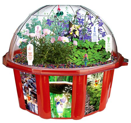 Fairy Triad Dome Terrarium by DuneCraft - $22.95