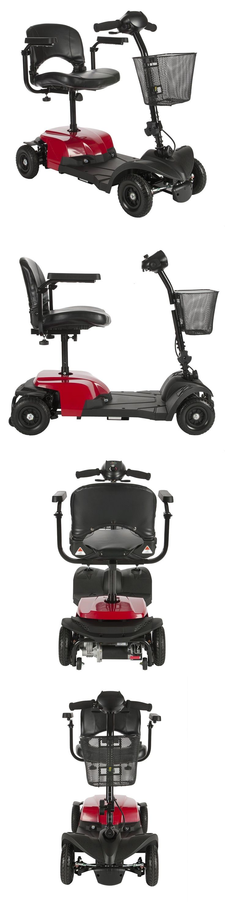 14 best toto scooter x essential images on pinterest medicine mobility scooters new bobcat x4 compact electric transportable power mobility red scooter 4 wheel fandeluxe Images
