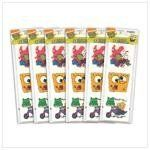 "SPONGEBOB SQUAREPANTS TATTOOS . $2.25. Featuring the images of Spongebob and his cartoon pals, these temporary tattoos are tons of fun for any youngster! Easy to apply and simple to remove when playtime is done. Twelve tattoos per pack. Weight 0.1 lb. Paper. Ages 2 and up. Each pack is 2 1/2"" x 7 1/4"" high; each tattoo is 2"" square. Sold in a pack of 6."