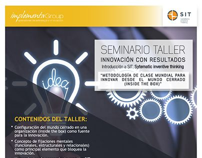 "Check out new work on my @Behance portfolio: ""Flayer - Implementa Seminario"" http://be.net/gallery/63552181/Flayer-Implementa-Seminario"