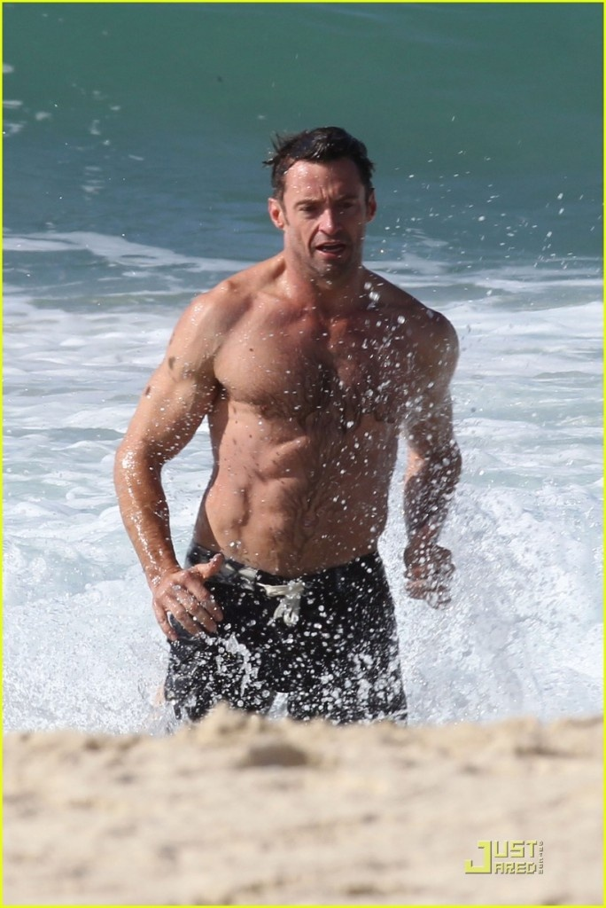 Hugh Jackman in any movie, shirtless. Just saying! | Hot ...