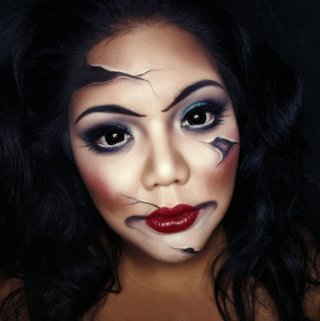 Broken Doll by Robson. Upload your Halloween selfie on Sephora's Beauty Board for a chance to be featured!