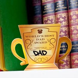 World's Best Dad Award | Printables | Disney Family.com