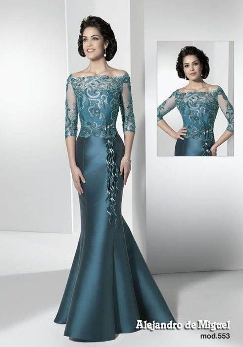 553 (Vestido de Madrina). Diseñador: Alejandro de Miguel. ...