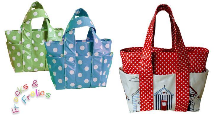 Wie man eine Tasche näht - Schritt für Schritt Nähanleitung (Box Bag Sch...