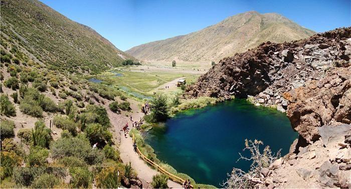 Laguna de la Niña encantada Mendoza