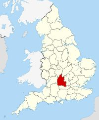 Oxfordshire UK locator map 2010.svg
