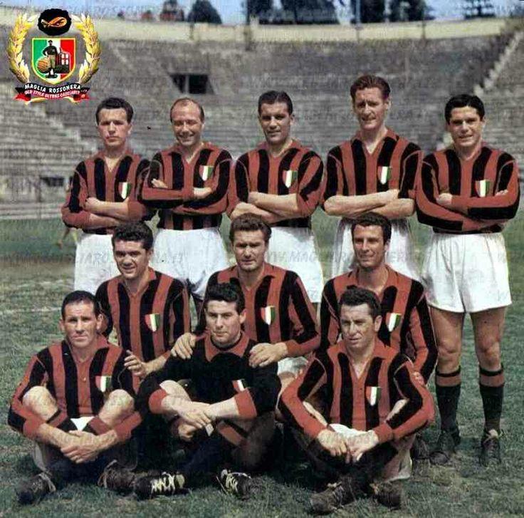AC Milan team group in 1949.