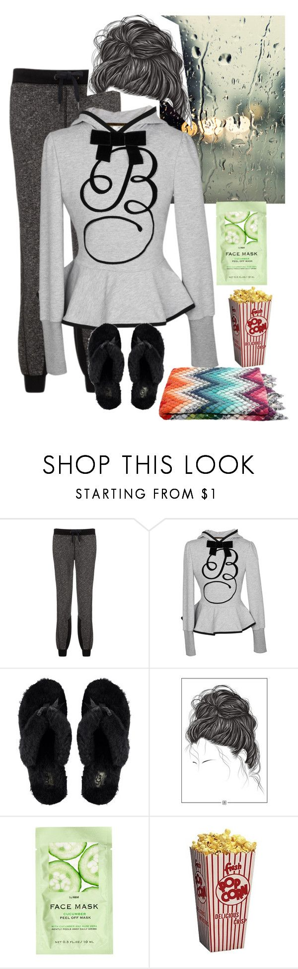 """""""Rainy Sunday"""" by abelis ❤ liked on Polyvore featuring Sweaty Betty, UGG Australia, H&M and Missoni Home"""
