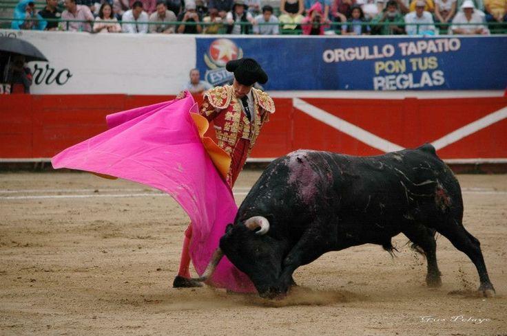 Guadalajara- México tarde dura para o novilheiro Moitense Joaquim Ribeiro Cuqui