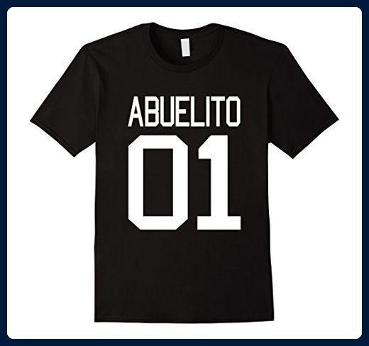 Mens Abuelito T-shirt Dia del Padre El Mejor Abuelo Del Mundo N 1 XL Black - Relatives and family shirts (*Amazon Partner-Link)