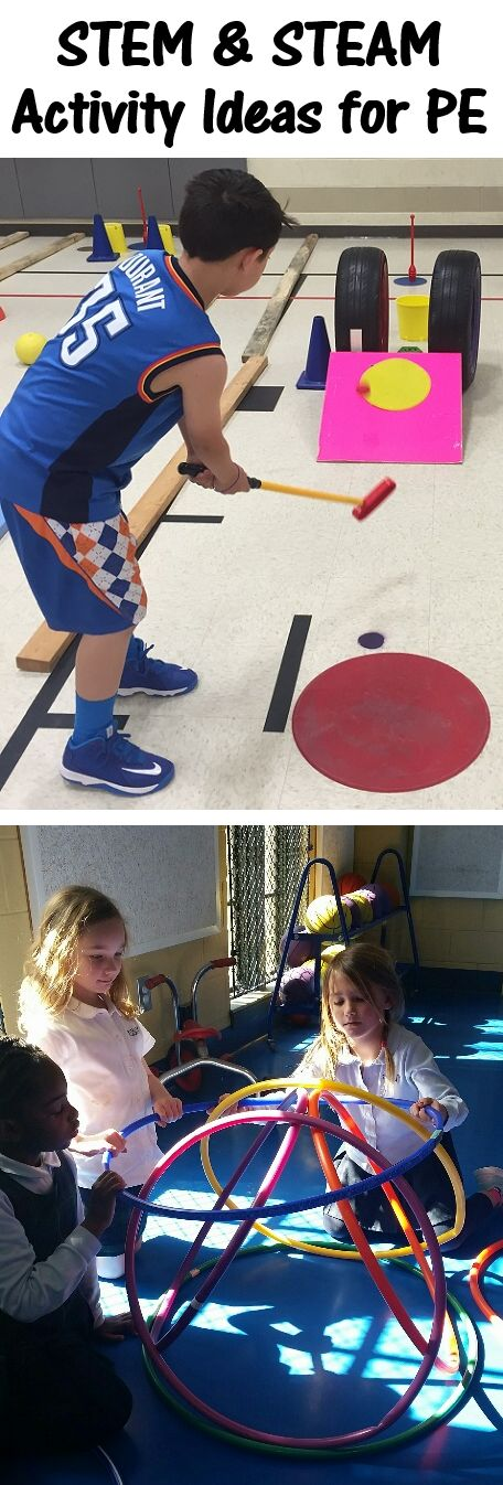 STEM and STEAM activities for PE.