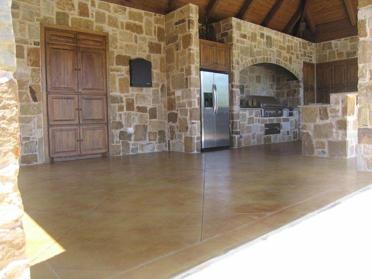 Concrete Stain | Vivid Decorative Concrete   Fort Worth Concrete Flooring  Solutions .