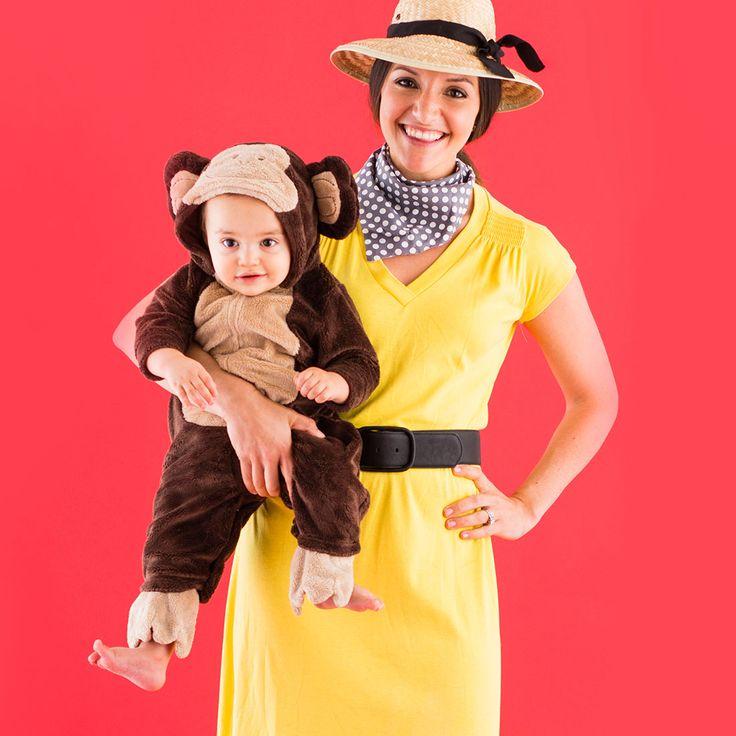 Curious George Boo! Pinterest Curious george - mom halloween costume ideas