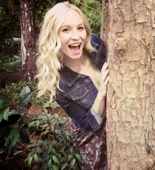 Candice Accola! Pintirest: @DanyelaChan ♔ Follow Me