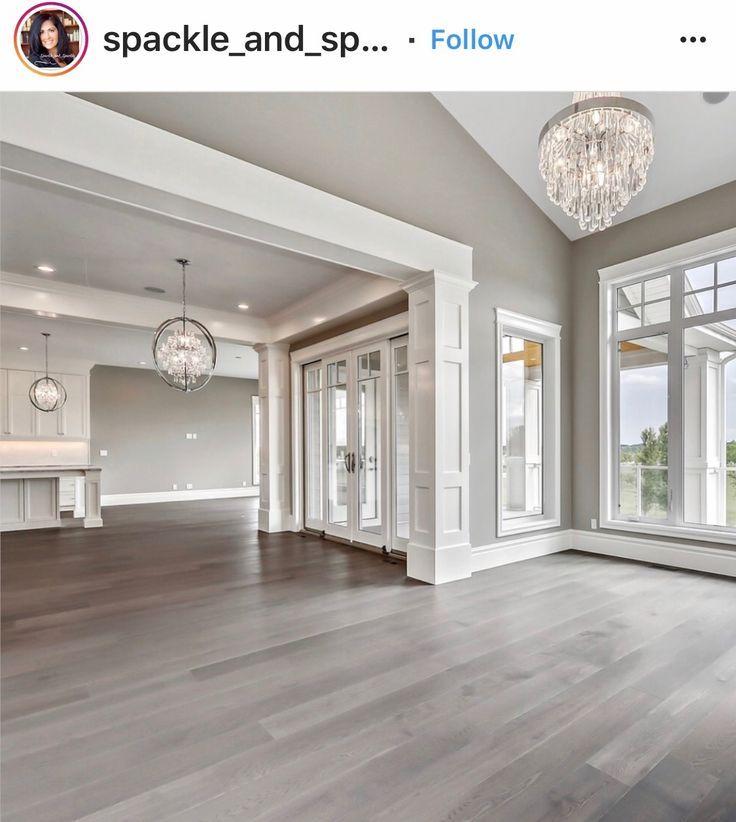 Flooring Color Open Concept Light Fixtures Home