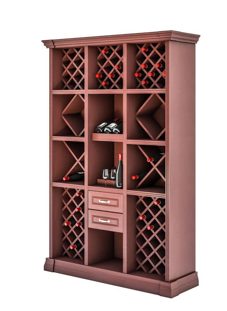 Винный шкаф (для хранения вина) 3007 Деметра Вудмарк