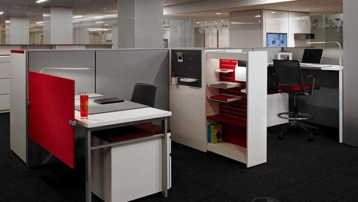 Haworth System With Pull Out Locker Storage Office Furniture Pinterest Locker Storage