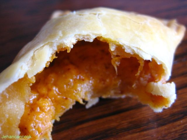 This flakey, buttery Guyanese favorite has a gooey cheese filling. Guyanese Cheese Rolls are a childhood favorite.