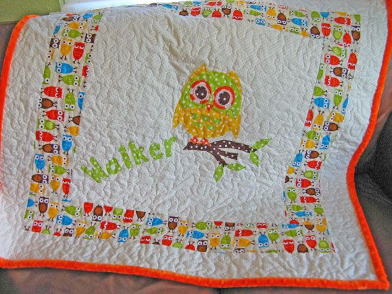 25 Unique Owl Baby Quilts Ideas On Pinterest Baby