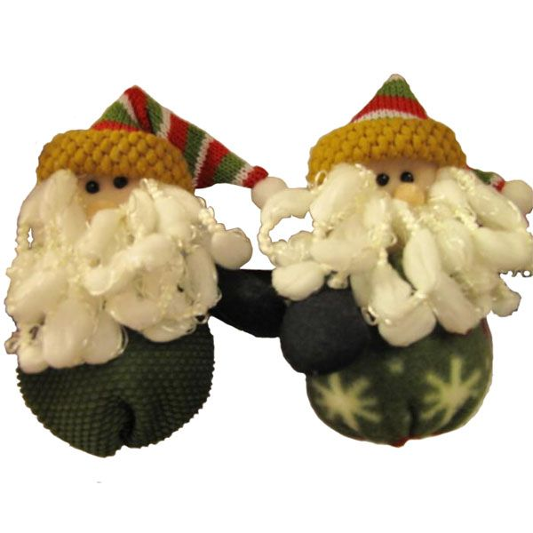 Santa Claus verde padre decoración divertida de Navidad regalo de la Navidad