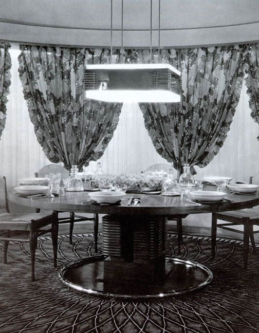 french art deco dining room by ruhlmann