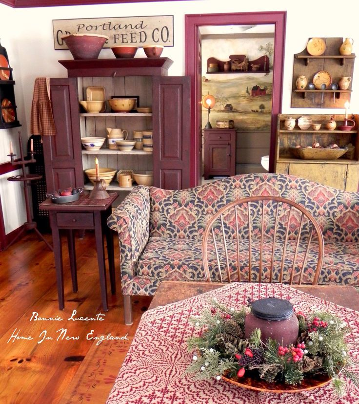 1011 Best Primitive And Colonial Decor/Rooms 5 Images On