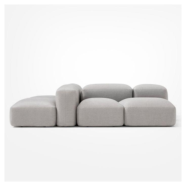 Emanuel Gargano + Anton Cristell - Lapis sofa for Amura