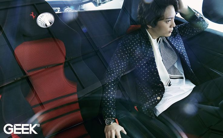 Joo Won Geek January 2015 Look 3