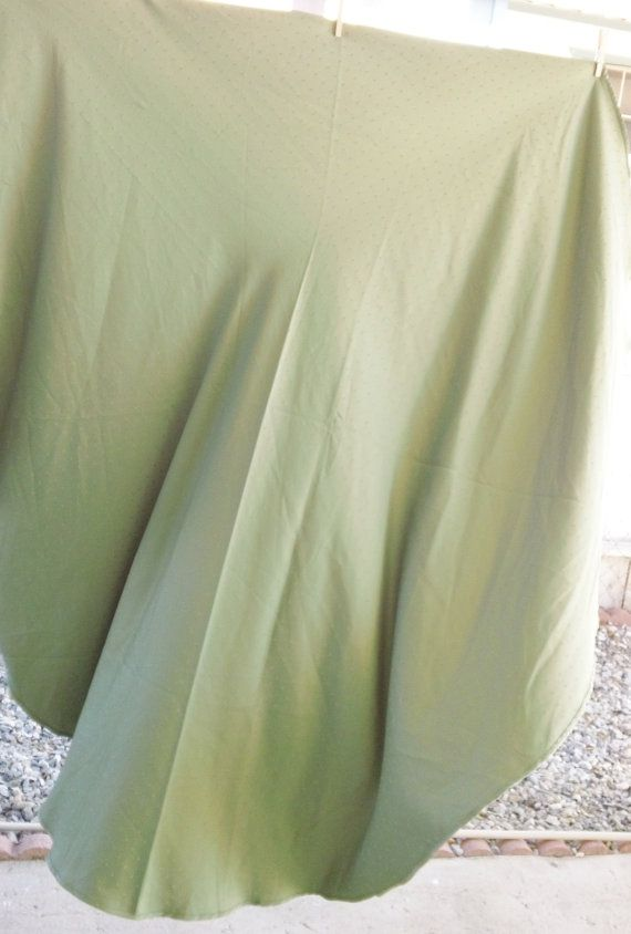 Beautiful Sage Light Olive Green Round Table Cloth