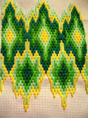 bargello 2 in progress   and out of focus 8/   laura   Flickr