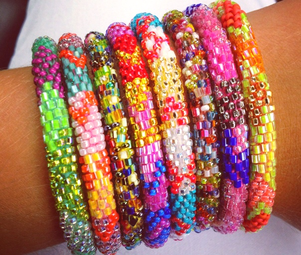 Lily and Laura Bracelets, are beautiful AND they help women in Nepal.