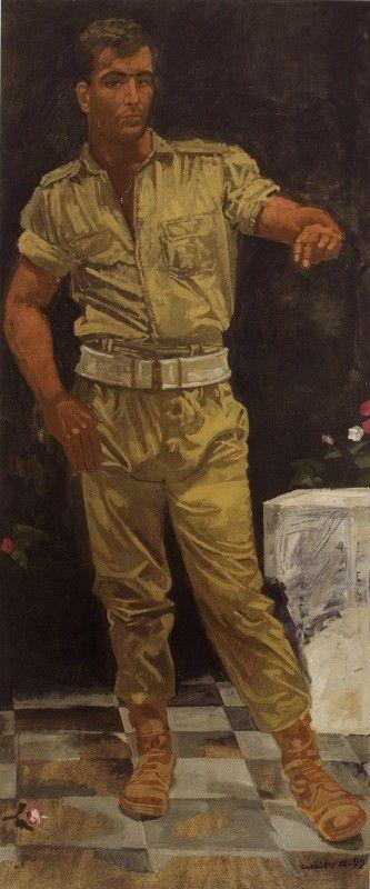 Ο Ζειμπέκικος, 1966-1972 Γιάννης Τσαρούχης. Ιδιωτική συλλογή.