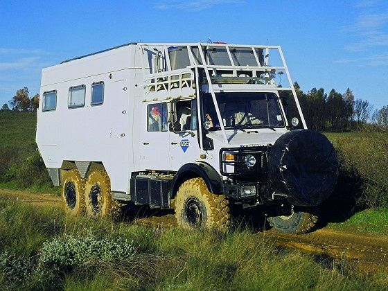 Unimog 6x6 Camper Ahh The Places I Could Take This