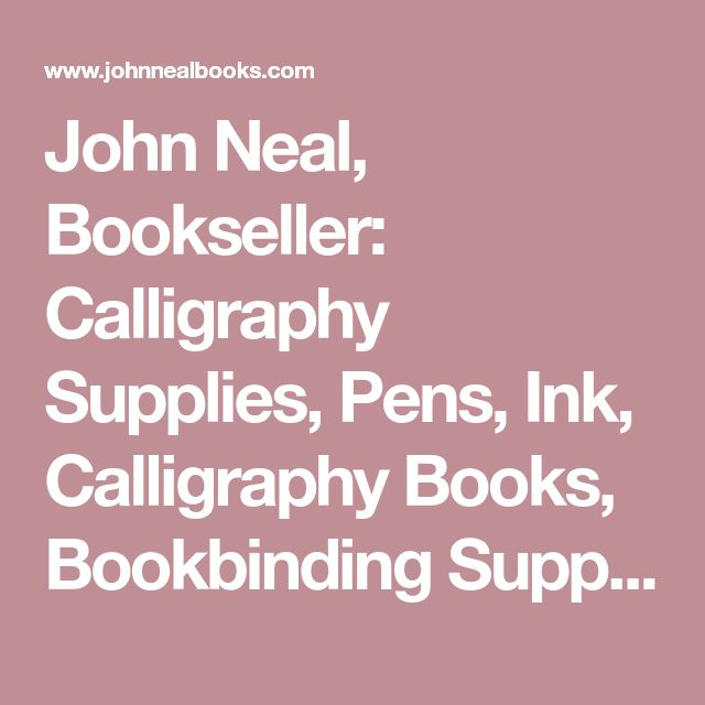 John Neal, Bookseller: Calligraphy Supplies, Pens, Ink, Calligraphy Books, Bookbinding Supplies, Bookbinding Books - Silver Triangle Brush